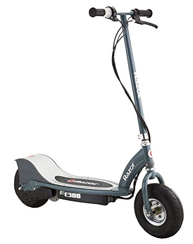 Razor-E300 Scooter eléctrico, Color Plata, 0 (13113612)