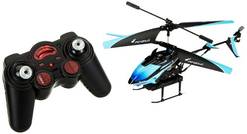 Amewi 25093 Firestorm Spy- Helicopter with remote control (3 channels, gyroscope, with video camera), small size