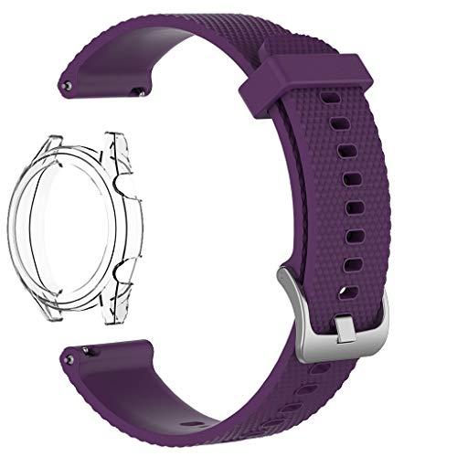 NEU! Uhrenarmband für Huawei Watch GT, Tensay Smartwatch Zubehör Weiches Silikon Ersatz Armband Sport Gurt Armband für Huawei Watch GT 46MM