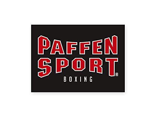 Paffen Sport Aufkleber Logo, schwarz, 105 x 74 mm