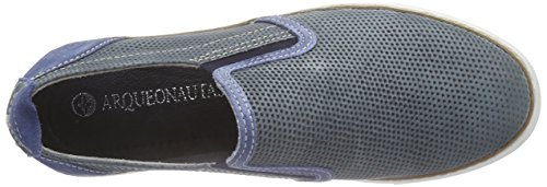 Arqueonautas 53228, Mocassins homme Bleu - Blau (light navy)