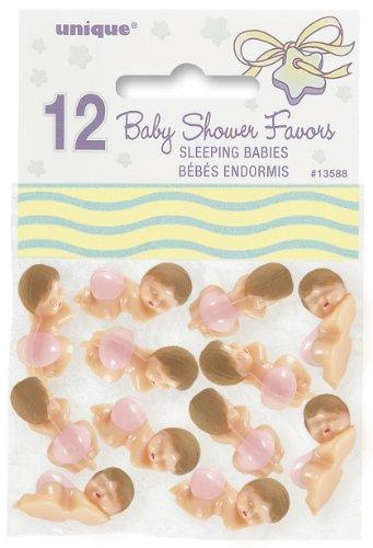 lafende Babys Pink–12Stück (Baby Spiele, Baby-dusche)