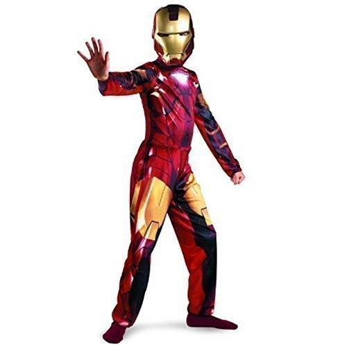 Iron Man - Kinder Marvel Comics Ironman 2 Kostüm Halloween Party (Iron Man Outfit)