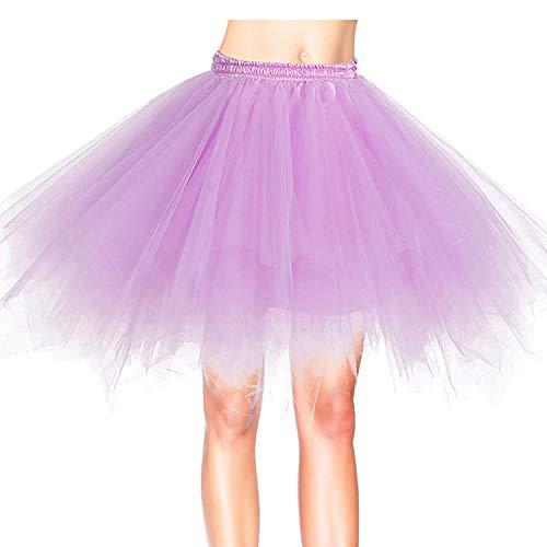 2019 Frauen Petticoat Diamond Skirt Vintage Spitzenrock Style 34 XL
