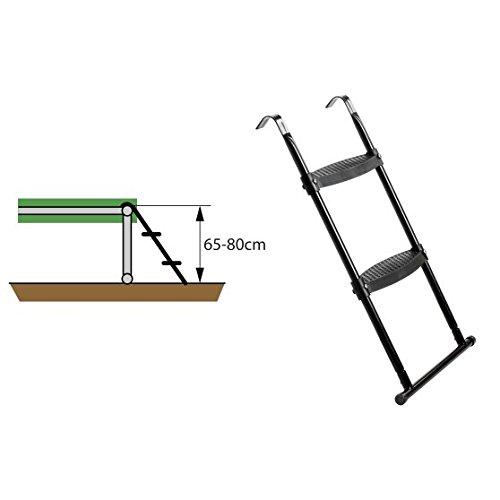 EXIT Trampolin Leiter für Rahmenhöhe von 65-80 cm