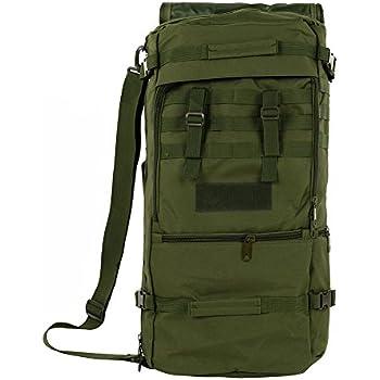 S-Zone - Mochila multifunción impermeable, 50 l verde B-Tactical
