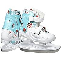 Nijdam Paire de patins à glace réglables pour enfant