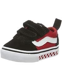 Vans Unisex Babies' Ward V - Velcro Suede Sneakers
