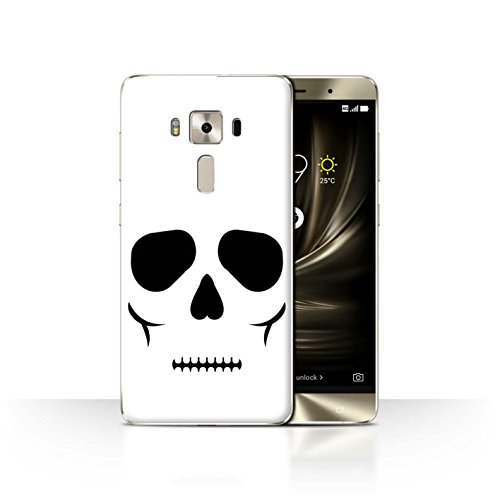 Stuff4® Hülle/Case für Asus Zenfone 3 Deluxe ZS570KL / Schädel Muster/Halloween Zeichen Kollektion Skull Deluxe Maske