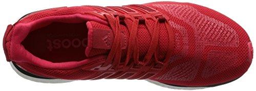 Tênis Vermelha Escolar Preto 3 Vermelho Homens raio De Núcleo Rosso Energia Adidas Impulso FwZXqZf