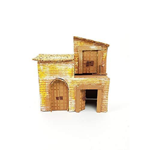 Casetta per presepe presepio villaggio natalizio casa presepe paesaggio completo natalizio natività presepe statuine