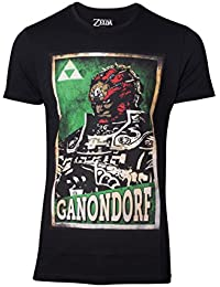 The Legend of Zelda T-Shirt Propaganda Link Mens Black