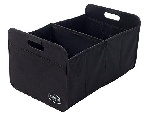 ROSENBORG Schulte - Premium Faltbare Kofferraum-Tasche Einkaufskiste mit stabilem Boden - 57cm x 36cm x 30cm