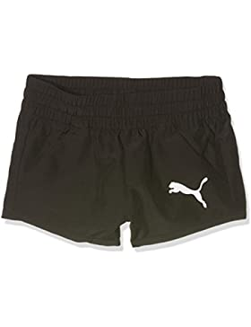 Puma Pantalones cortos Active Dry Ess para niños, infantil, Active Dry ESS WovenShortsG, black, 164