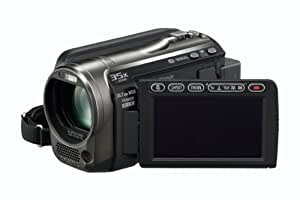 Panasonic HS60 Full HD Camcorder With 120GB HDD, X35 Intelligent Zoom, X25 Optical Zoom, Wide Angle Lens, iA + Face Recognition - Black