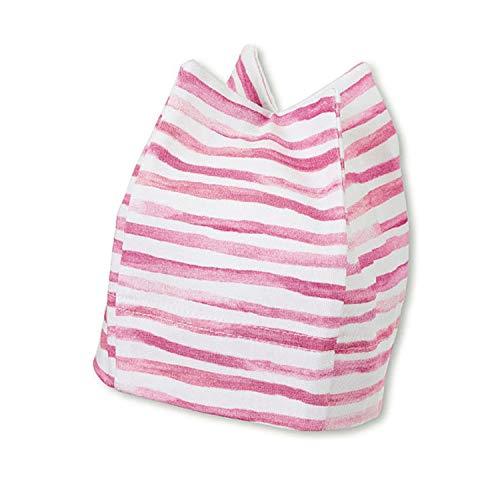 Sterntaler - Mädchen Baby Sommermütze Erstlingsmütze Zackenmütze, UV-Schutz 50+, rosa - 1501935, Größe 45