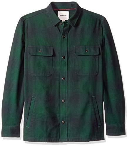 Goodthreads giacca in flanella uomo