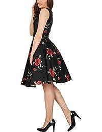 Amazon.it  rose rosse - Vestiti   Donna  Abbigliamento 2f1c561ec46