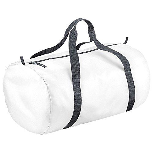 Bag Base mixte Bg150whit Pack Away Sac de corps, Blanc, Medium