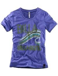 Billabong Damen-Shirt Marken-T-Shirt lila in Größe M Violett