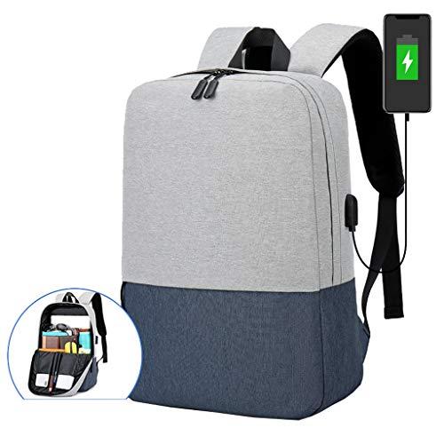 Cooralledtooere Mode Nähen Rucksack Männer lässig Multifunktions Männer und Frauen Laptoptasche Mode Reiserucksack - die besten Geschenkideen (Farbe : F2)