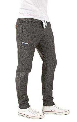 WOTEGA Herren Jogginghose Freizeithose Sweatpants Steve Grau (Asphalt 190201)