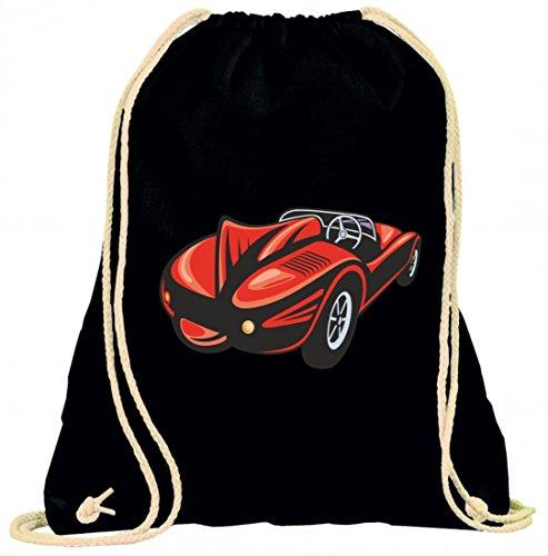 "Turnbeutel \""Roter Sportwagen Racing Rennen Auto Oldtimer America Amy USA Auto Car Luxus Breitbau V8 V12 Motor Felge Tuning Mustang Cobra\"" mit Kordel - 100{6990c81a7eaed8648d2b8d5ade8ba0fdaebf8b02344b452aeffc3cd96f49a1f2} Baumwolle- Gymbag- Rucksack- Sportbeutel"