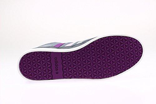 Adidas park lX mid w hi, baskets mode femme - grau/rosa/silber