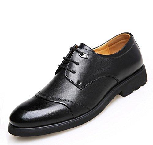 WZG Herbst neue Geschäftskleidschuhe der Männer 48 Meter Schuhe Größe beiläufige Schuhe der Männer Männer arbeiten Schuhe black bars