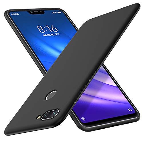Yocktec Funda Xiaomi Mi 8 Lite, Funda Ultrafina de Gel de TPU Suave esmerilada para el teléfono Inteligente Xiaomi Mi 8 Lite 2018