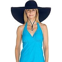 Coolibar Damen Shapeable Poolside Sonnenhut UV Schutzfaktor 50 Plus, 02233