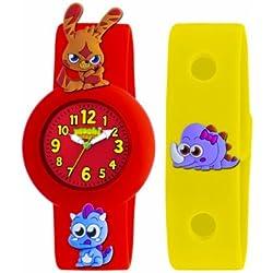 Moshi Monster Kinder-Armbanduhr Analog Silikon Rot AMMKA-0001