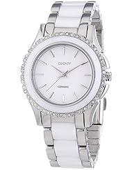 DKNY Damen-Armbanduhr Analog Quarz Keramik NY8818
