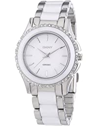 DKNY Damen-Armbanduhr XS Analog Quarz verschiedene Materialien NY8818