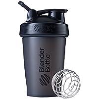 BlenderBottle Classic Loop Shaker, Protein Shaker mit BlenderBall 590ml, schwarz