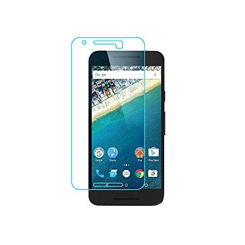 GiXa Technology 9H Hartglas Panzerglas 2.5D Abgerundet Display Schutz Schutzglas Hart Schutz GlasFolie für LG Handy / Smartphone (für Google Nexus 5X, Hartglas Transparent)