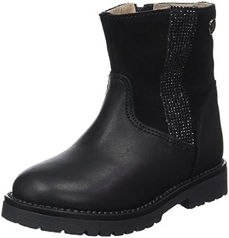 Garvalin Mädchen Tuan Biker Boots, Noir (Negros), 30 EU