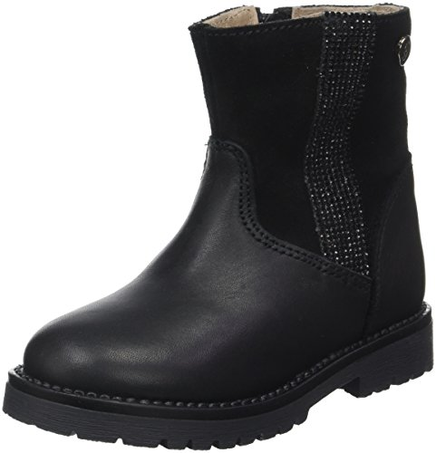 Garvalin Mädchen Tuan Biker Boots, Noir (Negros), 31 EU (Kinder, Mädchen, Garvalin Schuhe)