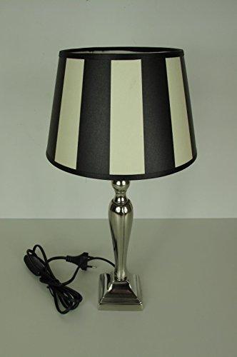 tischleuchte-tischlampe-rund-king-black-gestreift-40-cm