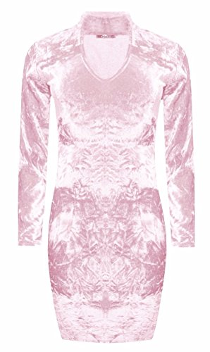 Comfiestyle - Robe - Moulante - Femme Rose