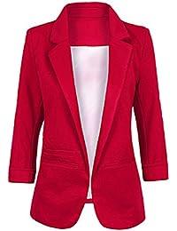 Blazer rojo mujer chile