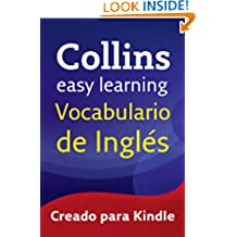 Easy Learning Vocabulario de inglés (Collins Easy Learning English) (Spanish Edition)