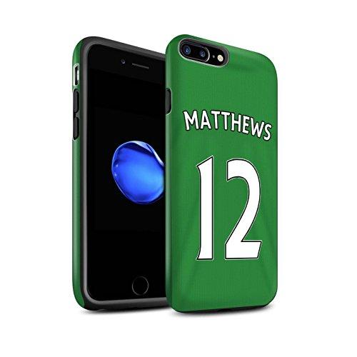 Offiziell Sunderland AFC Hülle / Matte Harten Stoßfest Case für Apple iPhone 7 Plus / Khazri Muster / SAFC Trikot Away 15/16 Kollektion Matthews
