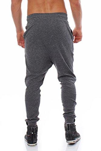 JACK & JONES - Pantalon - Carotte - Uni - Homme Navy Blazer / Grau Melange