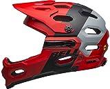 Bell Unisex - Adult SUPER 3R MIPS Cycling Helmet Downdraft Mat Crimson/Black, S