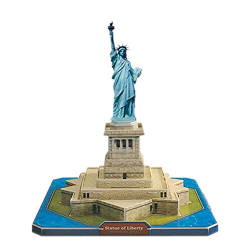 [Statue of Liberty] 3D-Puzzle Kinder Lustige Gebäudemodell Puzzle