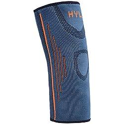 Ogquaton Ellenbogen-Ärmel-Arm-Stützellbogen-Klammer Nylonarm-Ärmel-elastische Ellbogen-Klammer für Sport- oder im Freientätigkeiten 1 PC Qualität