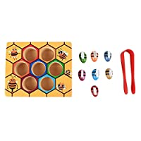 ArgoBar Children Clip Beehive Games Intelligence Color Cognition Toys Clip Small Bee Toy Wooden Early Childhood Education Tools