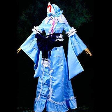 Saigyouji Touhou Cosplay Yuyuko Project Kostüm - Sunkee Touhou Project Cosplay Yuyuko Saigyouji Kostüm, Größe XL ( Alle Größe Sind Wie Beschreibung Gesagt, überprüfen Sie Bitte Die Größentabelle Vor Der Bestellung )