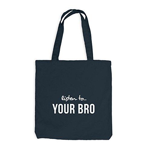 Listen Jutebeutel Bro Your Brudi Bruder To Dunkelgrau zxdqxr4w